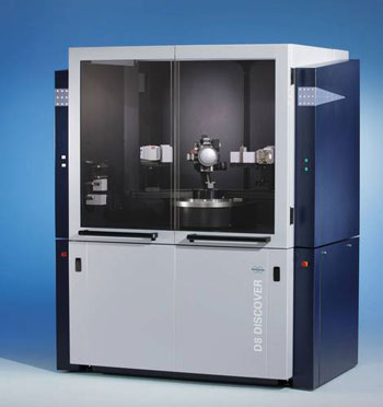 The New D8 DISCOVER™ is an Advanced X-ray Diffraction System for Materials Research Applications Including 2-Dimensional Diffraction XRD2
