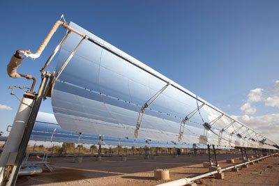 concentrated solar power (CSP) plant