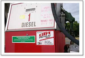 Diesel with nanotechnology tags