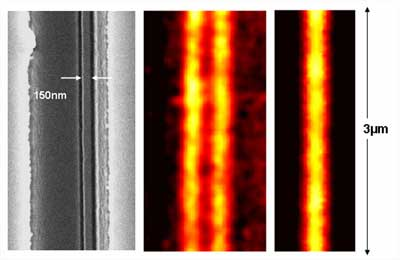Hyperlens imaging of a pair of nanowires