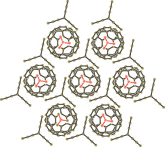 The first fullerene organic metal