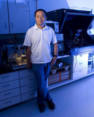 Dr. Nongjian Tao is a researcher with the Center for Bioelectronics and Biosensors at the Biodesign Institute, Arizona State University.