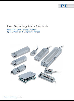 Brochure: Piezo Technology Made Affordable