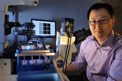 Chang Lu, an associate professor of chemical engineering at Virginia Tech