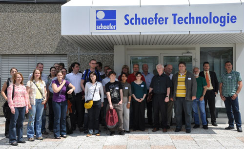 Delegates at NanoSight's European Users' Meeting