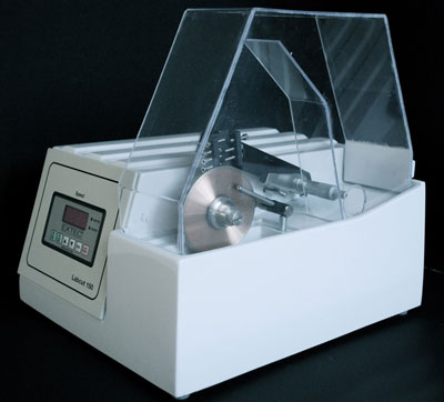 The Labcut 150 sample preparation system
