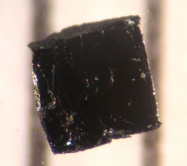 A small sample of the high-temperature superconductor Bi-2223