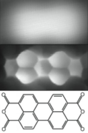 The Juelich method makes it possible to resolve molecule structure where only a blurred cloud was visible before