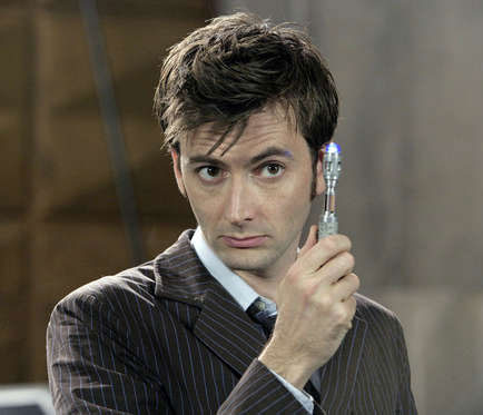 Dr. Who and sonic screwdriver