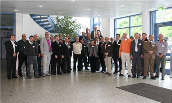 Participants in the kick-off meeting of SEAL at Fraunhofer IISB