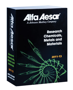 Alfa Aesar catalogue