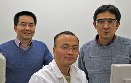 Researchers Ning Fang, Wei Sun and Gufeng Wang
