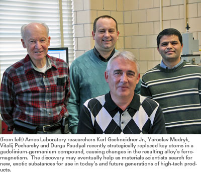 Ames Lab researchers