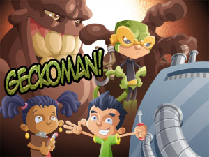 Geckoman! - A video game about nanoscale forces
