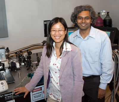 Engineering professors Bo Tan (left) and Krishnan Venkatakrishnan