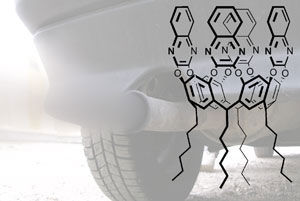Supramolecular sensor and car exhaust