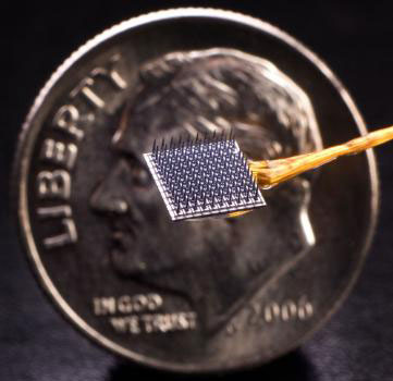 The implantable BrainGate neural interface