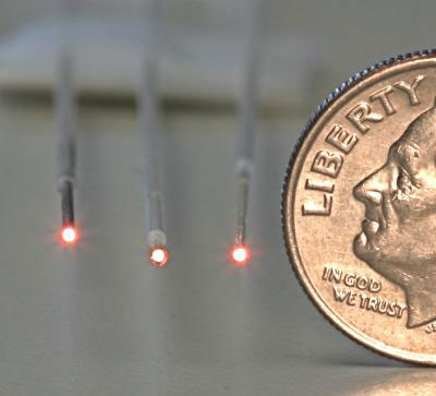 Chemical Microsensors on the Tips of Optical Fibers