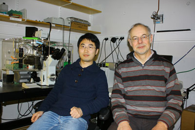 Dr. Xiang Wang and Professor Hans-Hermann Gerdes of the University of Bergen