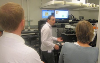>TERS workshop given by Nanonics Imaging