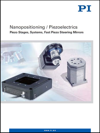 PI Nanopositioning Systems catalog