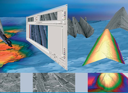 MeX turns any SEM into a 3D measurement device