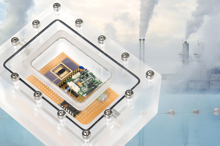 Imec and Holst Centre's integrated NOx sensor