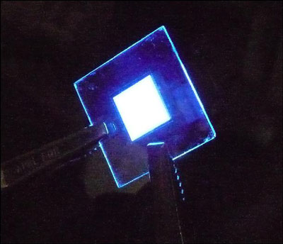 deep blue organic light emitting diode (OLED)
