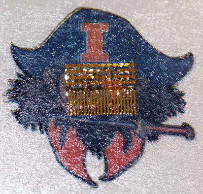 Electronic Tattoo, from the Back