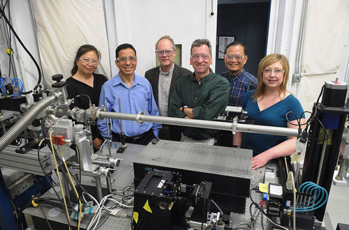 Multilayer Laue lens research team