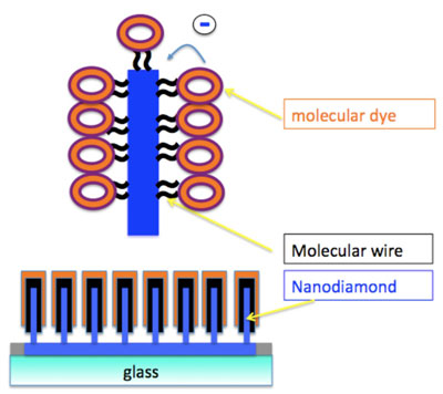 MOLESOL: Proposed concept of the molecular wire solar cell