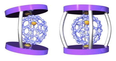spherical metallofullerene