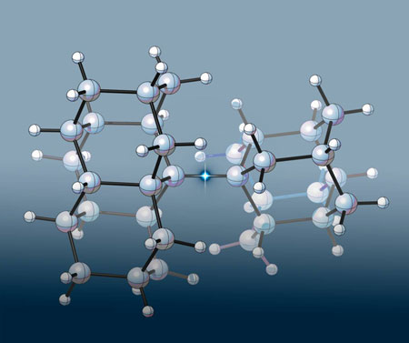 epresentation of the longest carbon-carbon bond ever seen in an alkane