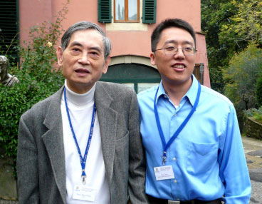Sow-Hsin Chen, left, and Yun Liu