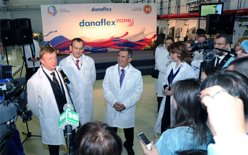 Opened a new factory Danaflex-Nano