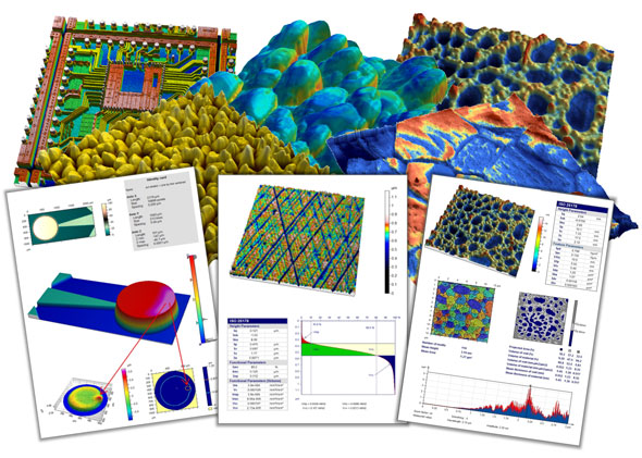 MountainsMap 6.2 surface imaging and metrology software