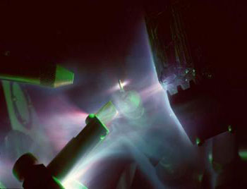 The Trident laser at Los Alamos National Laboratory