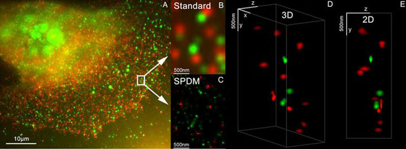 super resolution microscopy method LIMON