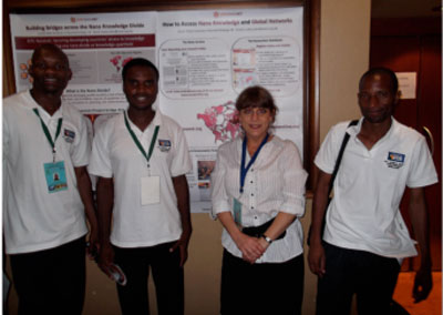 Institute of Nanotechnology/ICPC Nanonet poster presentation at the 6th AMRS Conference