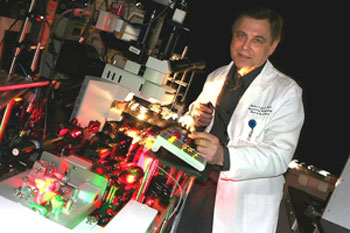 Vladimir Zharov, Ph.D., will direct the Arkansas Nanomedicine Center