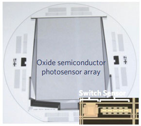 photosensor pixel array