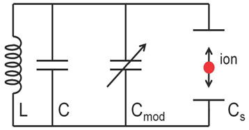 Model for ion-circuit coupling