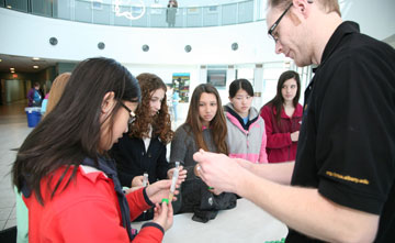 CNSE career day for high school students