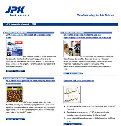 JPK newsletter