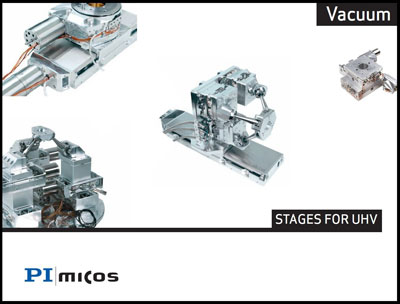 PI miCos vacuum positioning products