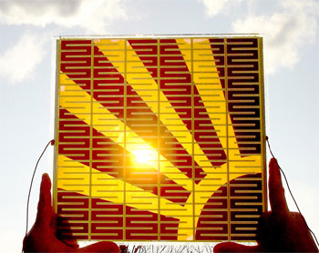 Screen-printed solar cells