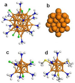 39- and 11-atom Gold Nanoclusters