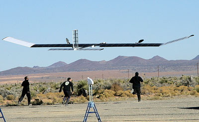 Zephyr, QinetiQ�s High-Altitude Long-Endurance (HALE) Unmanned Air Vehicle (UAV)