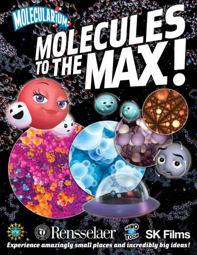 Promotional poster for Molecules to the MAX