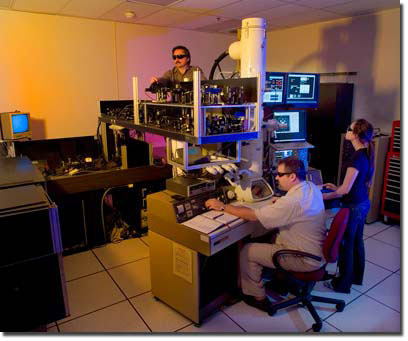 making adjustments to the dynamic transmission electron microscope